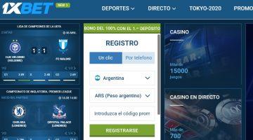 Cómo depositar y retirar fondos en 1xbet Argentina